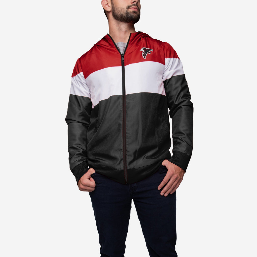 Atlanta Falcons Hooded Gameday Jacket FOCO - FOCO.com