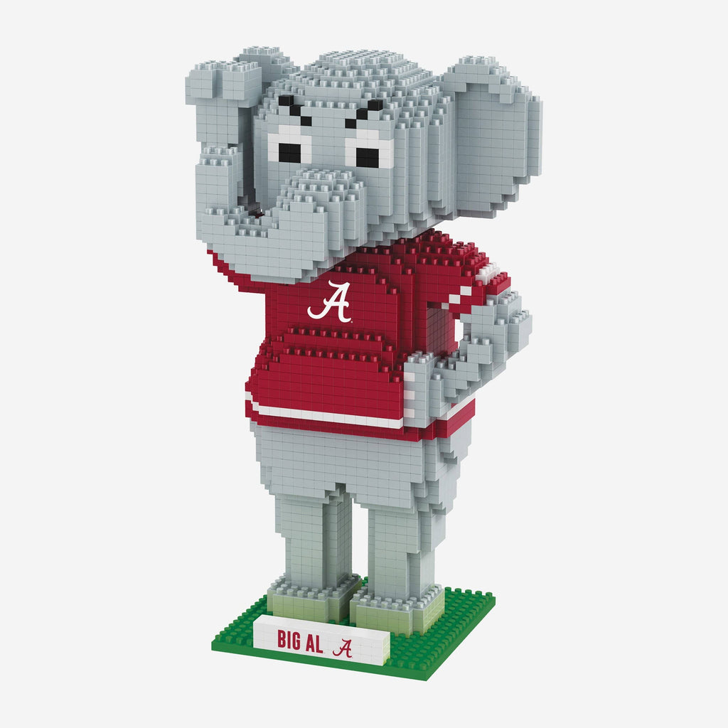 Big Al Alabama Crimson Tide Thematic BRXLZ Mascot FOCO - FOCO.com