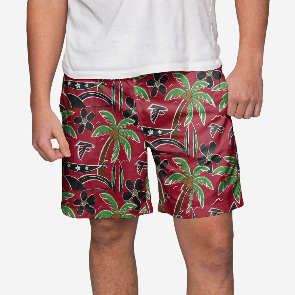 Atlanta Falcons Tropical Swimming Trunks FOCO S - FOCO.com