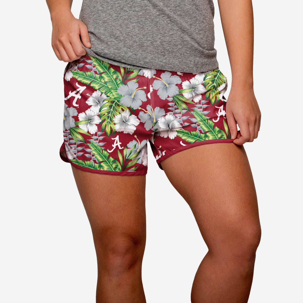 Alabama Crimson Tide Womens Tropical Breeze Shorts FOCO S - FOCO.com