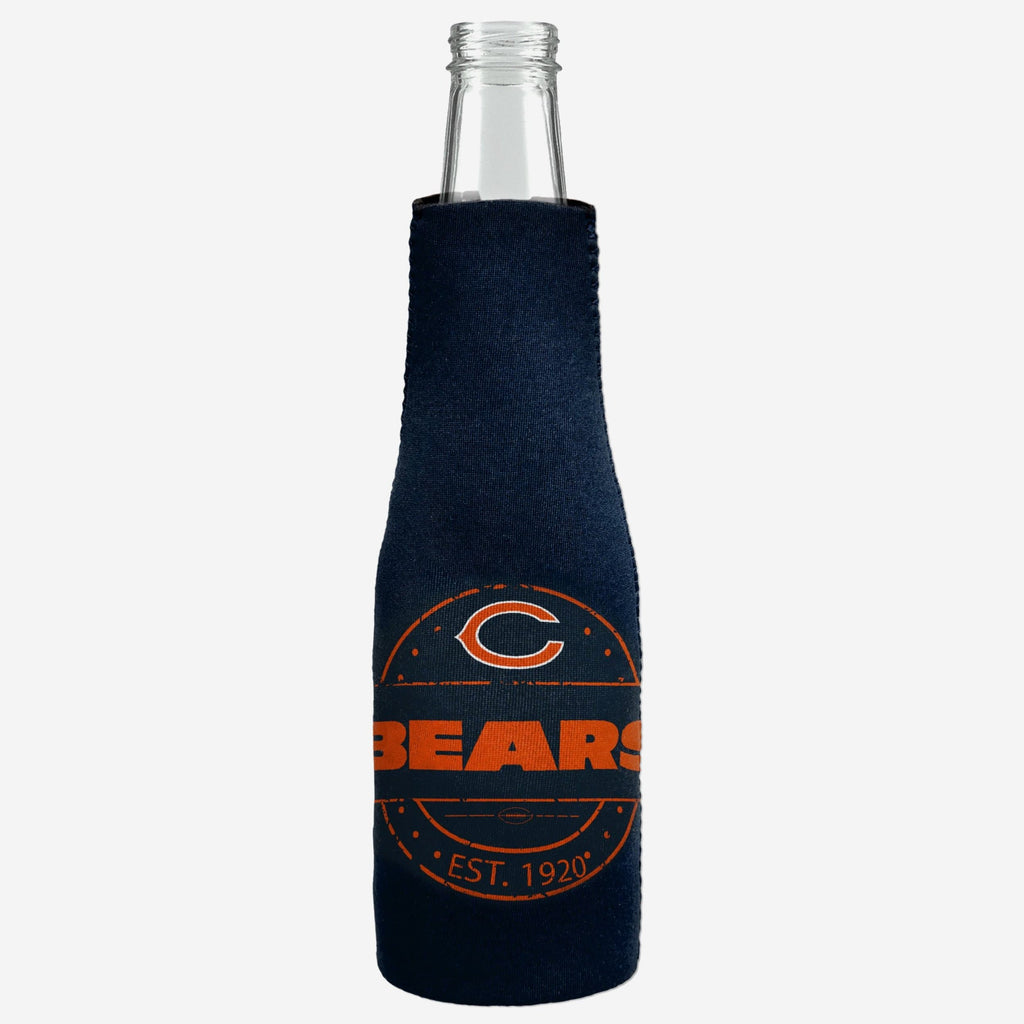 Chicago Bears Insulated Zippered Bottle Holder FOCO - FOCO.com