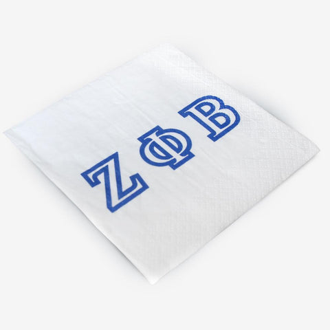 ZPB - Zeta Phi Beta - Beverage Napkins (20ct)