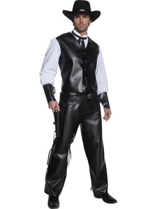 Deluxe Authentic Western Gunslinger Costume