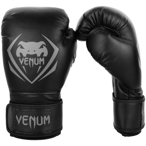 "Venum Boxing Gloves ""Contender"" - Black/Gray"