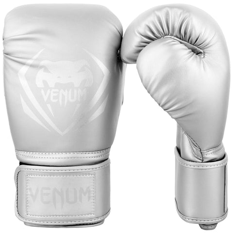 "Venum Boxing Gloves ""Contender"" - Silver/Silver"