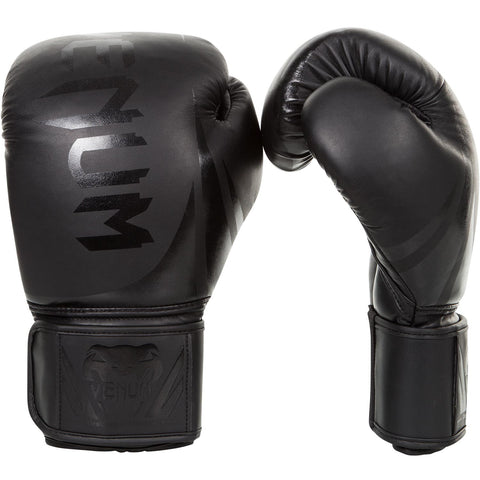 "Venum Boxing Gloves ""Challenger 2.0"" - Black/Black"