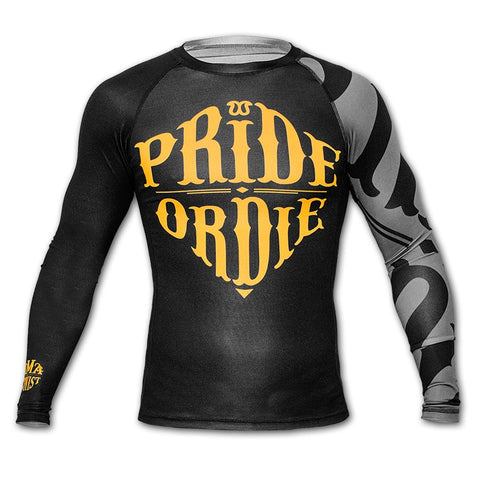 "Pride Or Die Rashguard ""Reckless"" - Black"