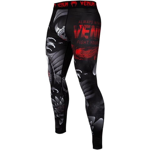 "Venum Compression Leggings ""Koi 2.0"" - Black/White"