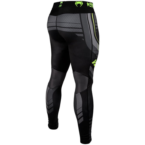 "Venum Compression Leggings ""Technical 2.0"" - Black/Yellow"
