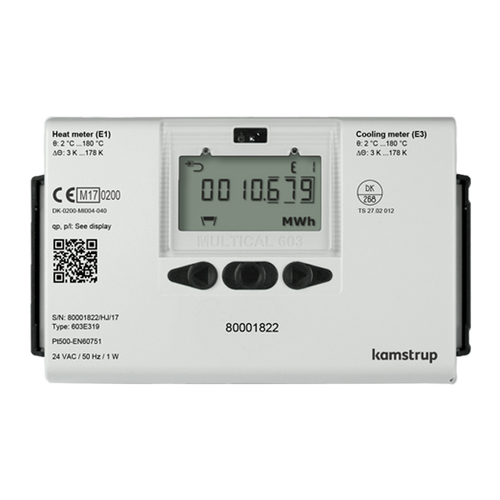 Kamstrup Multical 603 Heat Meter. DN125 qp 100.0m3/hr.