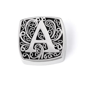 "Lori Bonn ""A is for Alluring"" letter slide charm"