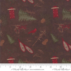 United Notions Frosted Flannels Walnut 6781 18F