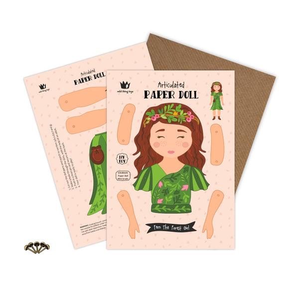 The Fern Paper Doll