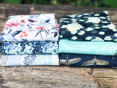 July Small Fat Quarter Bundle, Monthly subscription bundle | Weave and Woven