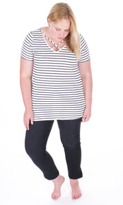 Soft Stripe Shirt - Adventurista Boutique