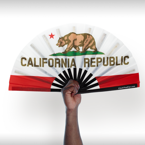 California State Flag Clack Fan™