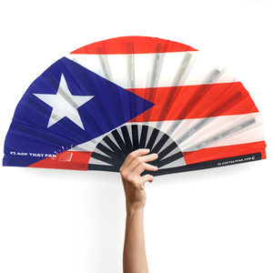 Puerto Rico Flag Clack Fan™