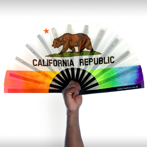 UV Pride California Clack Fan™