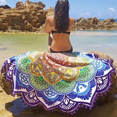 GirlyCode Beach Towel