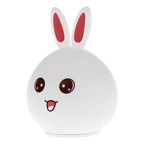 Rabbit Led Night Light - Red