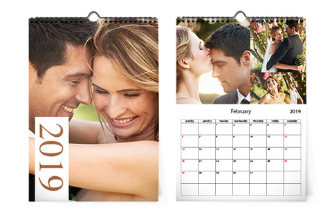 5 Calendarios de pared A4