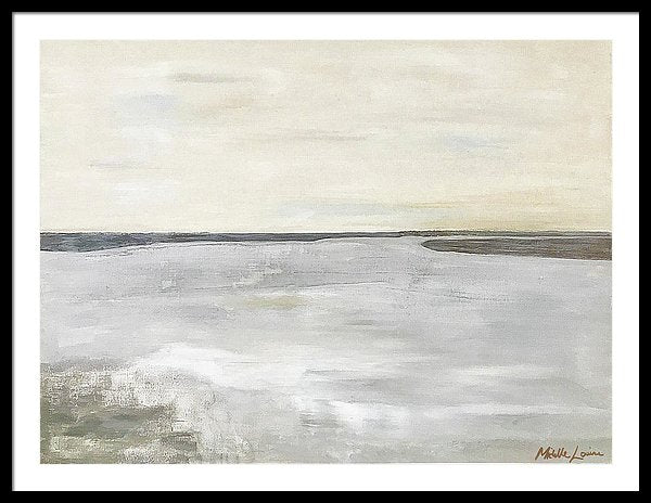 Kilmore At Low Tide - Framed Print