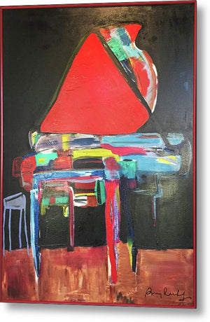 Art Piano - Metal Print