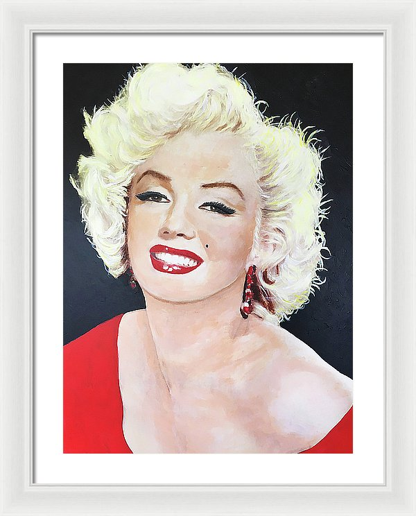 Marylin Monroe - Framed Print