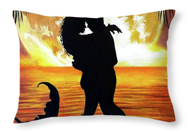 Mermaid Love - Throw Pillow