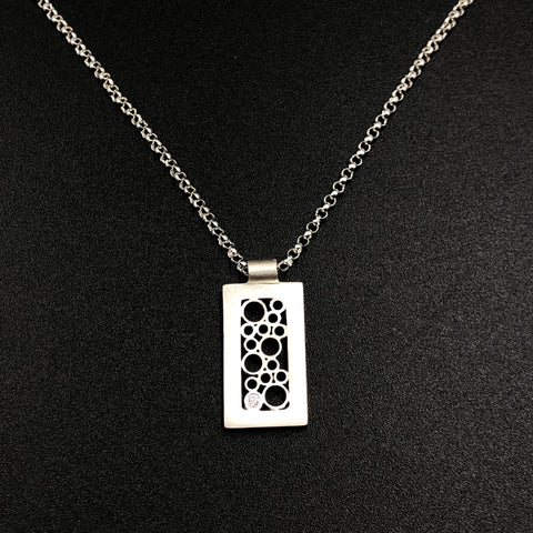 Short Rectangular Pendant