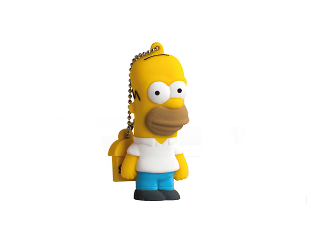 Manhattan Fd003401 Memoria Usb 8 Gb Homero Simpson - ordena-com