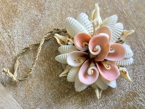 FLOWER SHELL HANGING ORNAMENT - SUN REPUBLIC