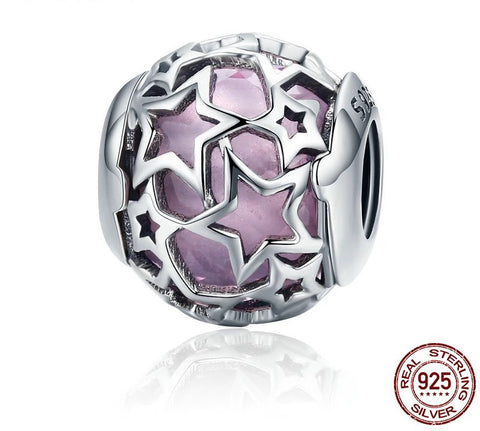 Image of Bracelet Charm – Bead Star Design