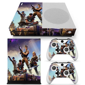 Xbox One S  Skin – Fortnite Design