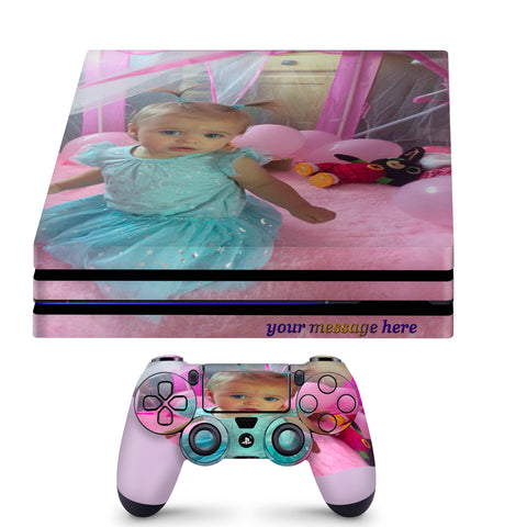 Create Your Own PS4 PRO Skin