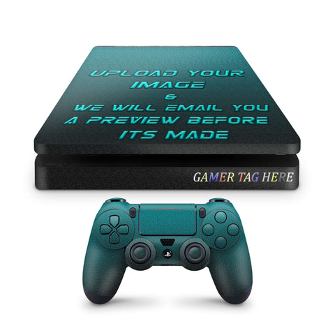 Create Your Own PS4 Slim Skin