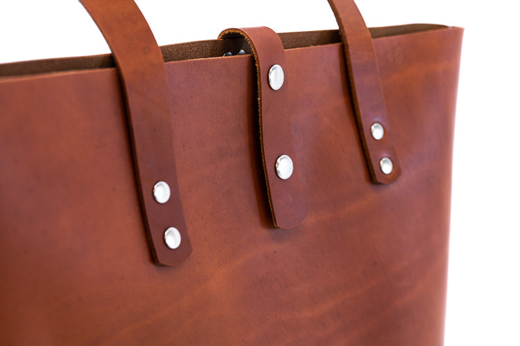 H+B EVERYDAY LEATHER TOTE BAG