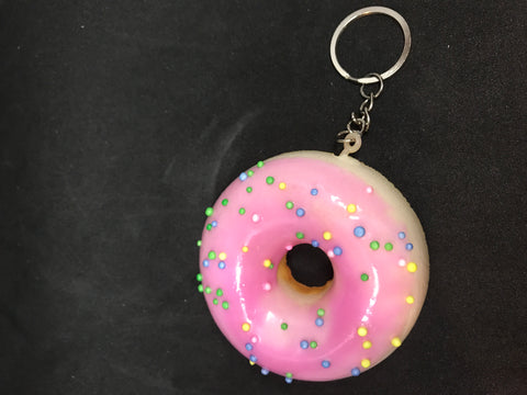 Squishy Donut key chains etc - Mountain View Candle Works