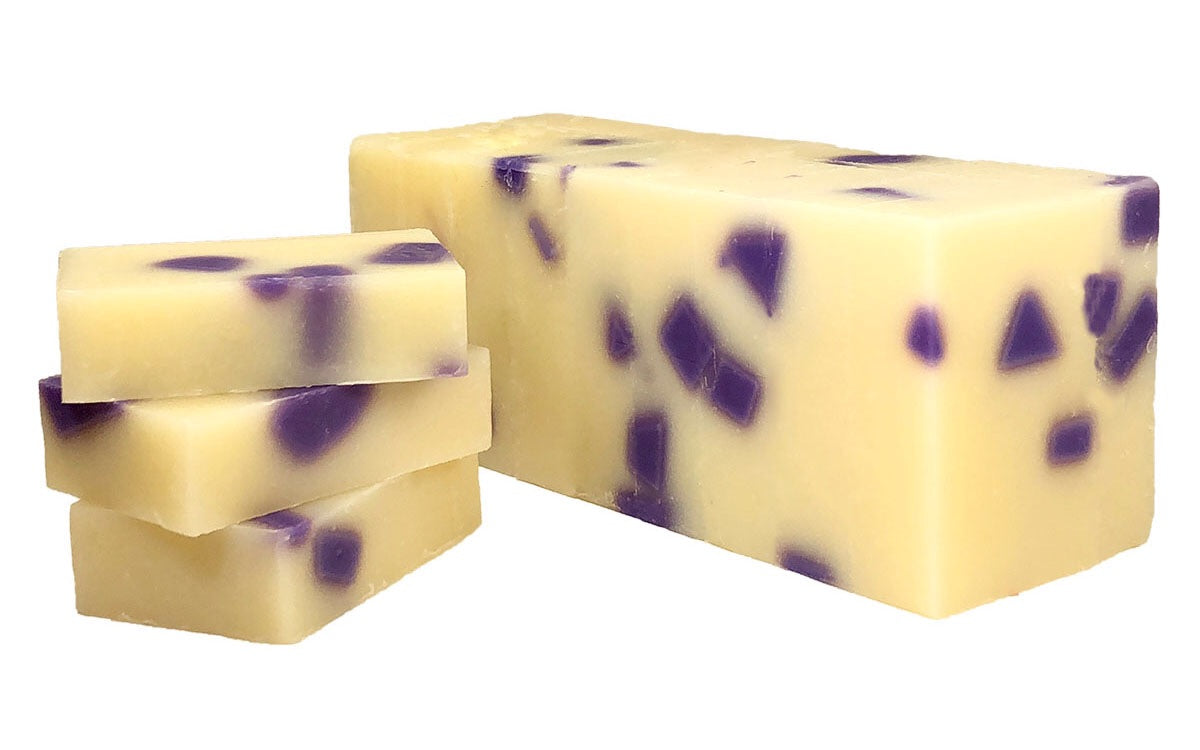 Black Raspberry Vanilla Soap - Mountain View Candle Works