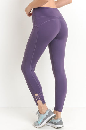 Purple Passion Workout Leggings