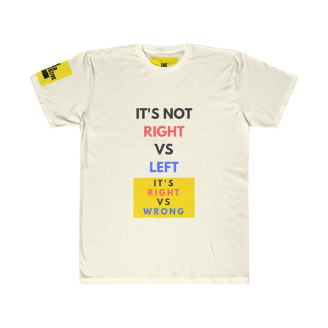Right vs Left T-shirt - Unisex
