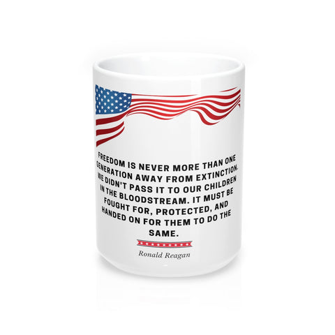 Ronald Reagan Mug 15oz