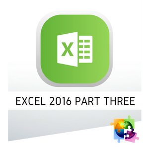 Microsoft Excel 2016 Part Three