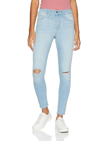 Gap Women's Washwell Mid Rise Jeggings Jeans with Destruction