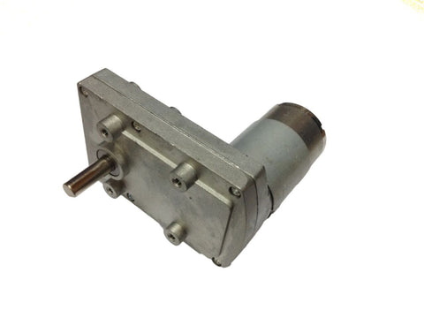 24v DC Gear, Geared Offside Motor 75 rpm High Torque - Side Shaft - Robodo