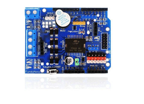 L298P Motor Shield motor driver for arduino - Robodo