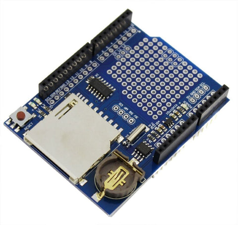 Data Logger module Logging Shield data recorder shield for Arduino uno sd card - Robodo