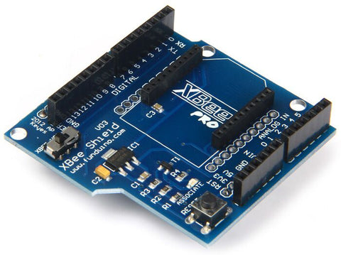 Bluetooth XBee Shield V03 Module Wireless Control For XBee ZigBee for Arduino - Robodo