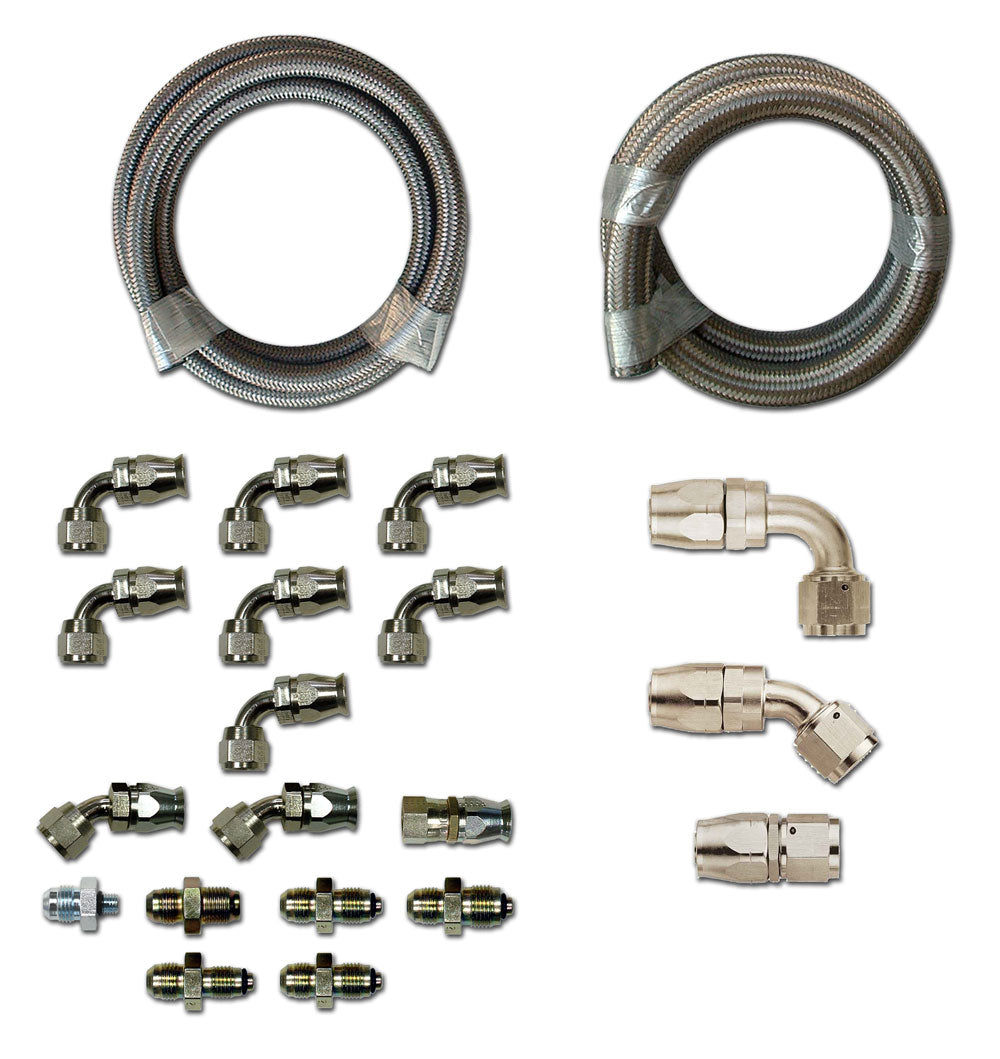 HK260 Stainless Braided Hose Kit - Ford - Hydroboost