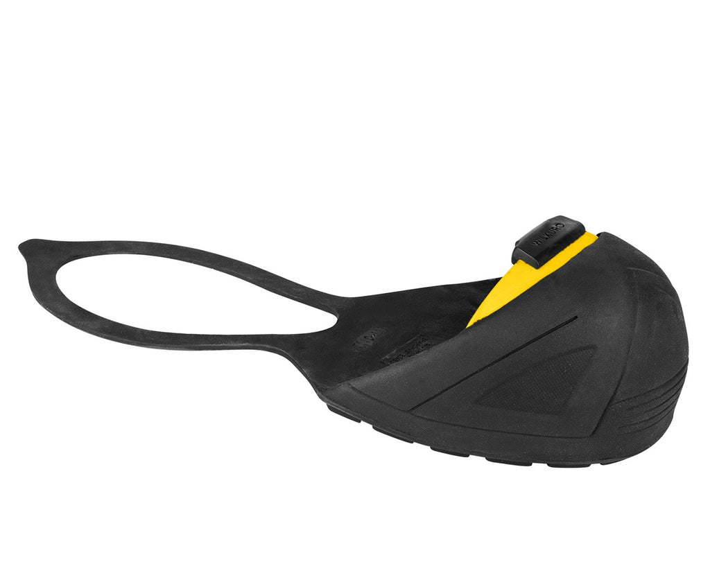 NATURAL RUBBER SAFETY OVERSHOES WITH BACK STRAP